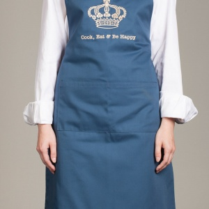 Full bib embroidered apron (BT006A)