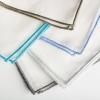 Coloured edge napkins (BT043N)