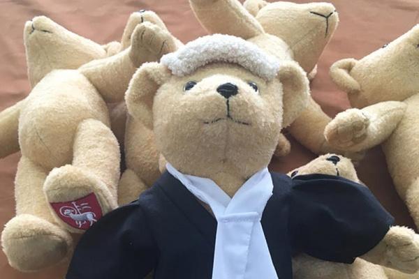 Bespoke teddy bears for the hospitality sector