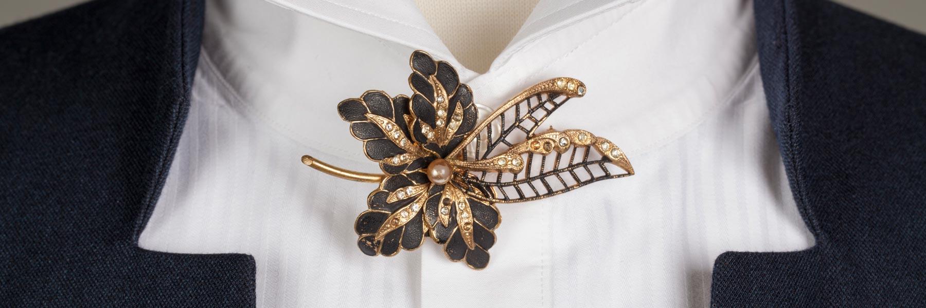Bespoke Textiles brooch