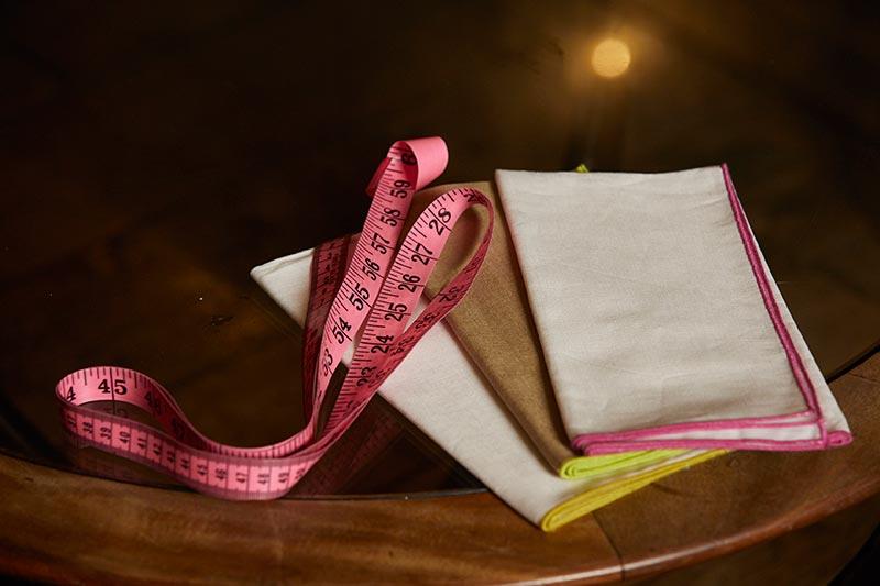 Bespoke Textiles napkins set