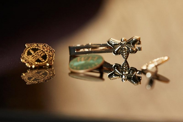 Bespoke Textiles hospitality lapel pins