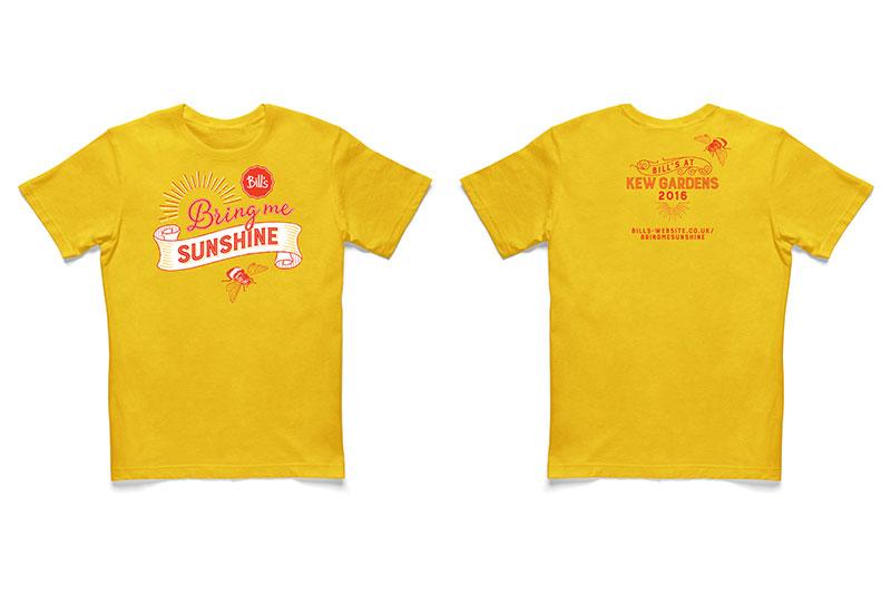 Bill's Bring Me Sunshine t-shirt