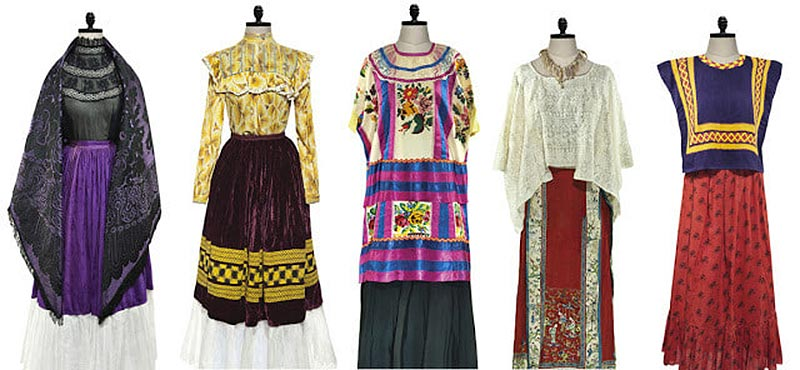Frida Kahlo dress designs