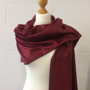 Reversible silk pashmina (BT028P)