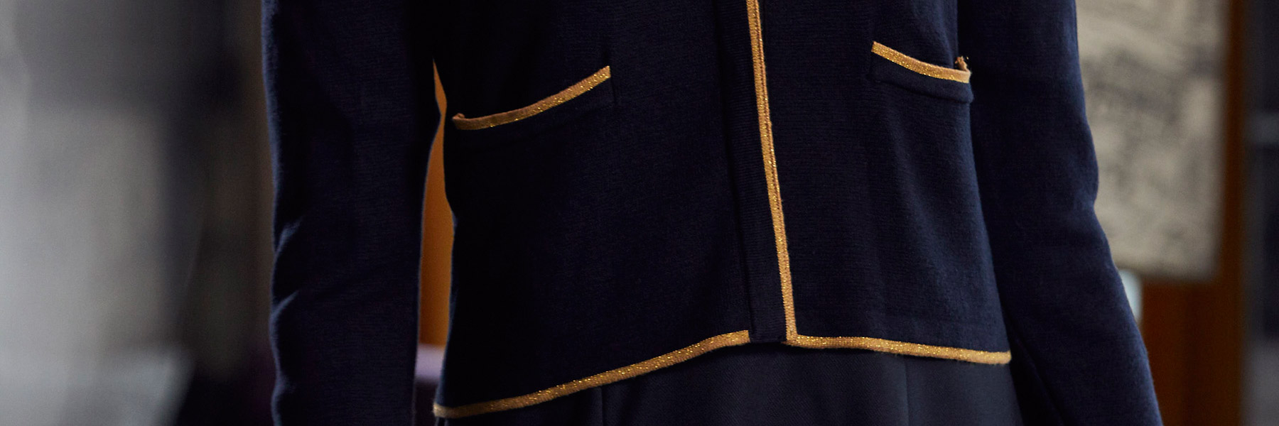 Royal Palaces housekeeping uniform detail