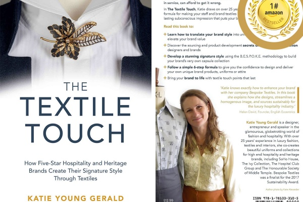 The Textile Touch book by Katie Young Gerald